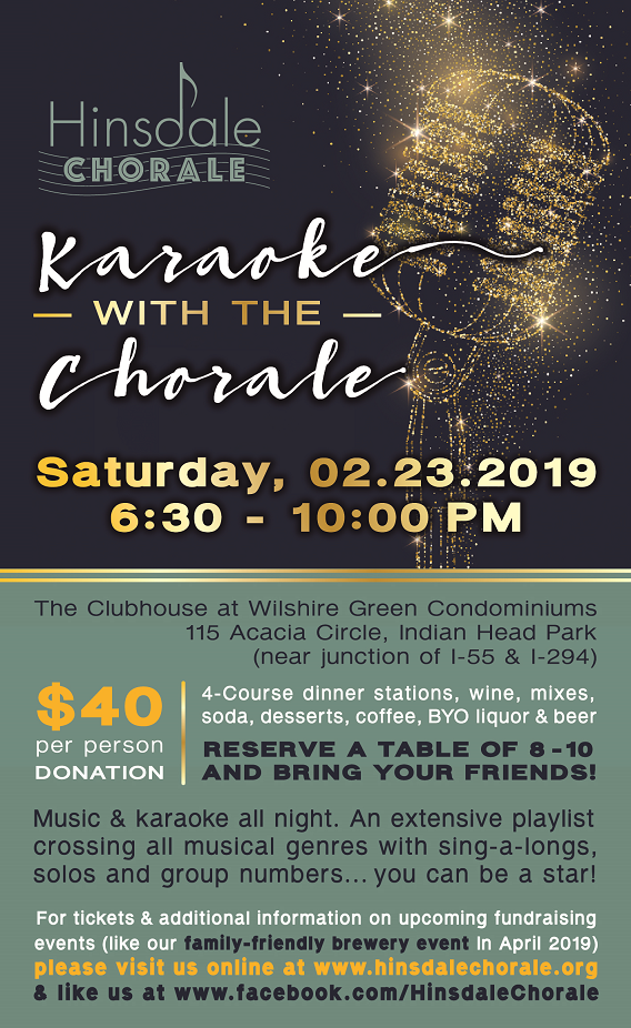 Fundraisers – Hinsdale Chorale